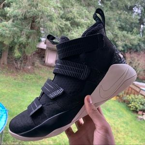 Nike Shoes - Lebron soldiers 10 black white